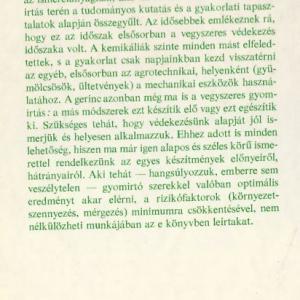 Gyomirtás-vegyszeres termésszabályozás