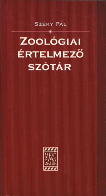 Zoológiai értelmező szótár