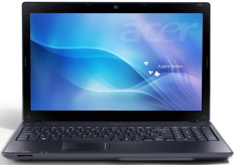 Acer Aspire 5336 felújított NoteBook FEHÉR HÁTLAP