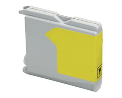 Brother-höz LC1000/970 sárga tintapatron (LC970Y, LC1000Y) yellow