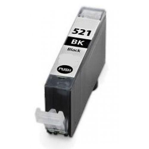 Canon CLI-521Bk FEKETE !CHIPES! utángyártott tintapatron (CLI521)(CLI521BK)