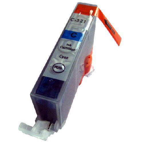 Canon CLI-521C CIÁN !CHIPES! utángyártott tintapatron (CLI521)(CLI521C)