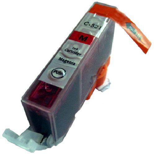 Canon CLI-521M MAGENTA !CHIPES! utángyártott tintapatron (CLI521)(CLI521M)