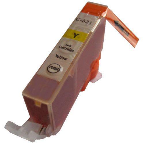 Canon CLI-521Y SÁRGA !CHIPES! utángyártott tintapatron (CLI521)(CLI521Y)