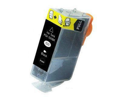 Canon PGI-520bk FEKETE !CHIPES! utángyártott tintapatron (PGI520Bk, PGI 520 BK)