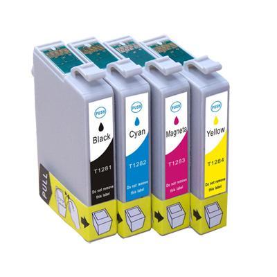 Epson-hoz T1285 pack utángyártott tintapatronok(T1281,T1282,T1283,T1284)