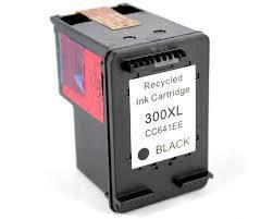 HP CC641EE (300XL, HP 300XL, HP300XL) utángyártott tintapatron FEKETE