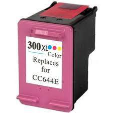 HP CC644EE (300XL, HP 300XL, HP300XL) utángyártott tintapatron SZÍNES