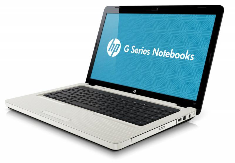 HP G62 felújított NoteBook FEHÉR