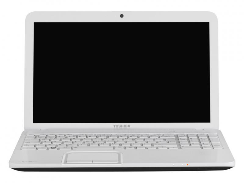 TOSHIBA SATELLITE C855D felújított NoteBook FEHÉR