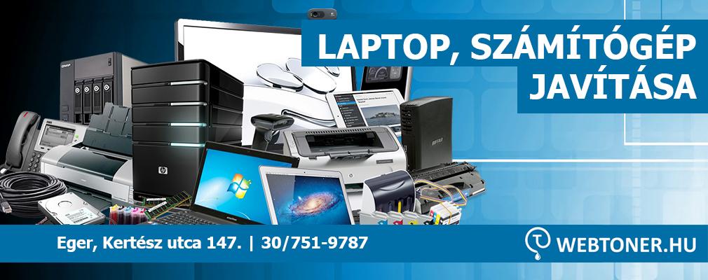Laptop javítás