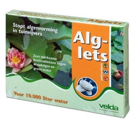 Alglets tabletta zöld- és fonalas alga ellen. 10 db tabletta/ doboz