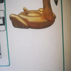 Óriás bronz Hattyú úszósziget