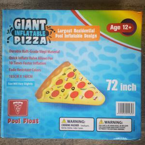 Óriás Pizzaszelet felfújható úszósziget