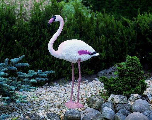 Flamingo figura,  90 cm