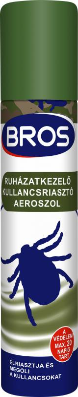 Kullancs riasztó aerosol ruhára 90 ml