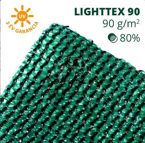Lighttex árnyékoló háló 1,5x50 m 80%