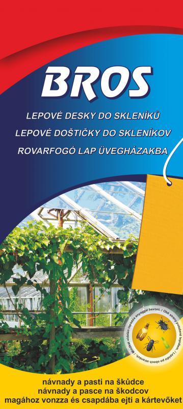 Rovarfogó lap  kertbe és üvegházakba 10 db