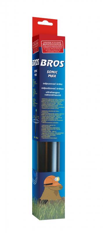 Sonic Max Ultrahangos vakondriasztó, 800-1000m2 hatóterület