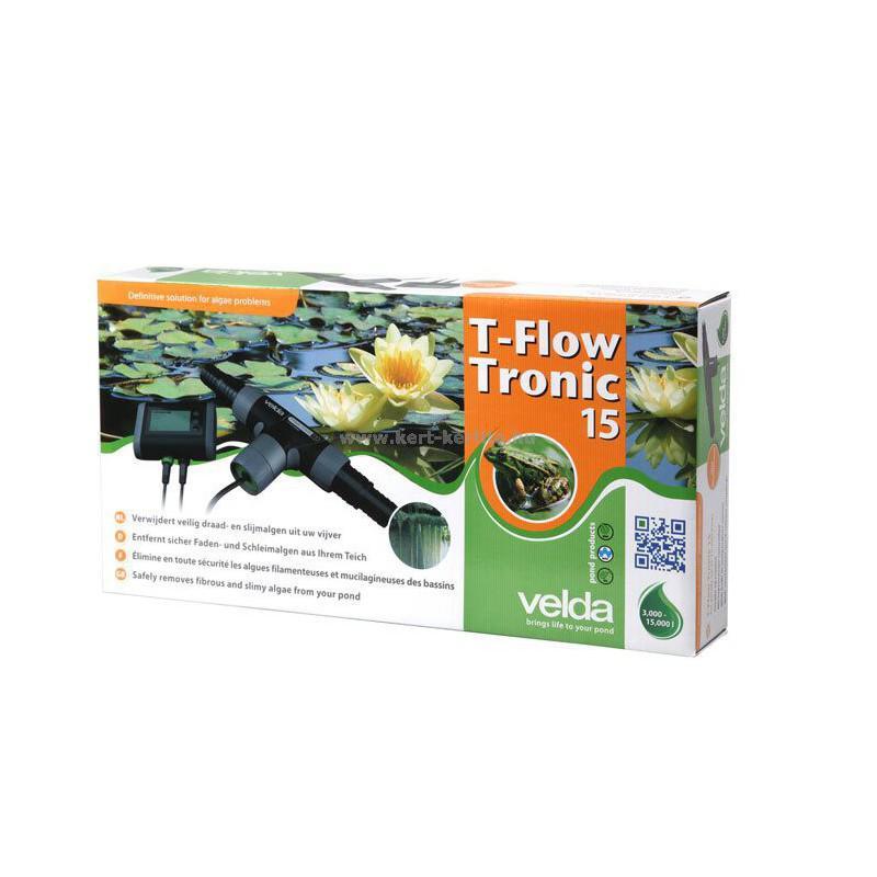 T-Flow Tronic 15  Tóméret: 3-15 m3-ig