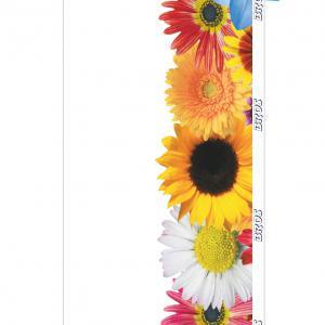 Ragacsos légyfogó ablakra, virágos 4db/csomag