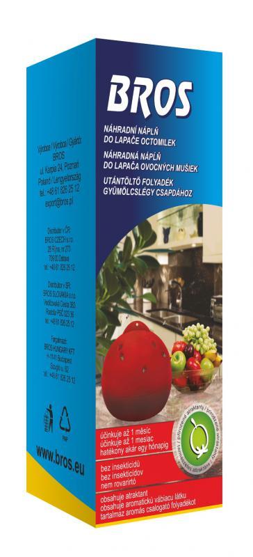 Utántöltő csalétek a gyümölcslégycsapdába 30 ml