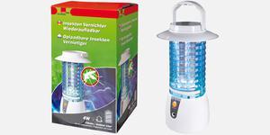 UV szúnyog-légy csapda tölthető, 4 W LED