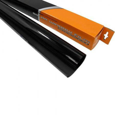 Ablaksötétítő fólia 300X75 S D.BLACK