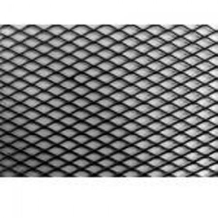 Alu rács Aluminium grill rács Fekete