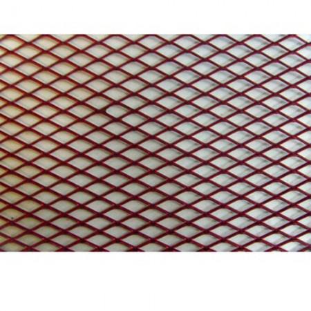 Alu rács Aluminium grill rács Piros