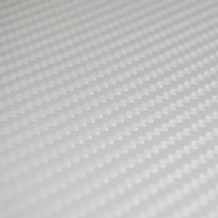 Autó karosszéria fólia Fehér karbon FN-CD-Carbon3-White