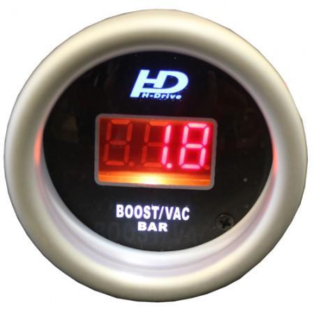 Autós sport műszer digitális turbónyomásmérő OR-DGT8807