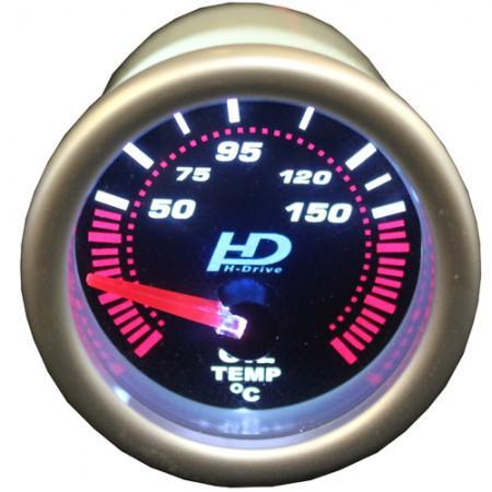 Autós sport Műszer olajhőmérséklet mérő sötétített lencse OR-LED7703-2