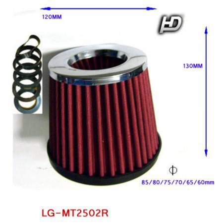 Direkt szűrő / Sport levegőszűrő piros LG-MT2502R