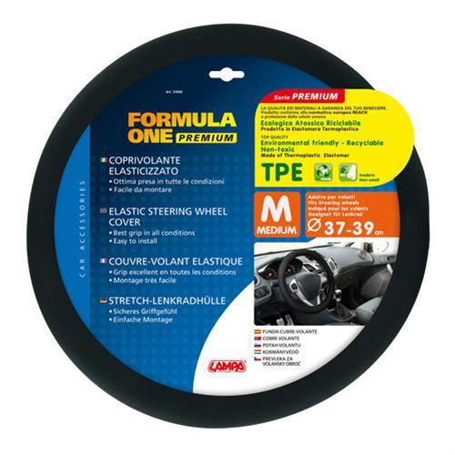 Lampa Formula Fekete Kormányvédő 37-39cm - TPE