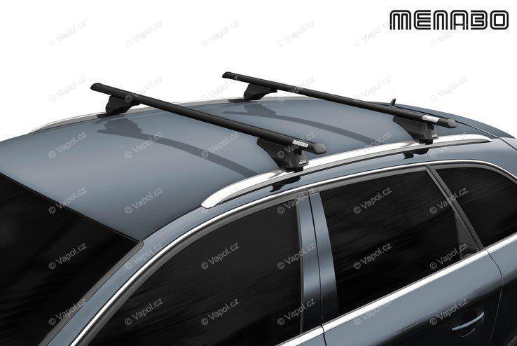 Tetőcsomagtartó tetőkorlát. MENABO Black TIGER 135
