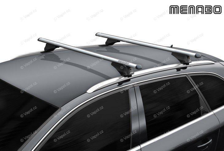Tetőcsomagtartó tetőkorlát.MENABO Silver TIGER 120