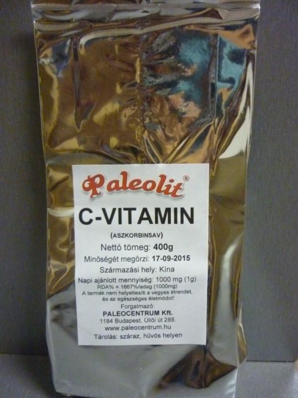 C-vitamin aszkorbinsav