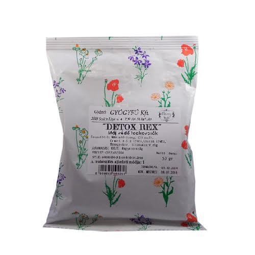 Detox Rex májvédő tea