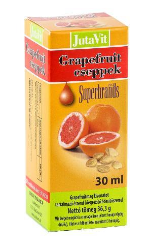Grappefruit csepp
