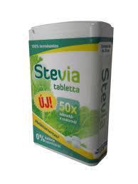 Sweetpol Stevia tartalmú édesítőszer tabletta