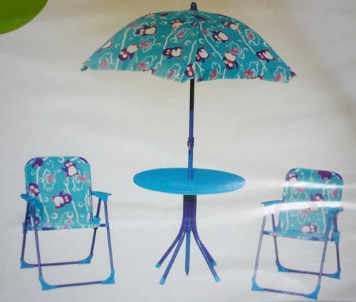 Kerti szett napernyővel