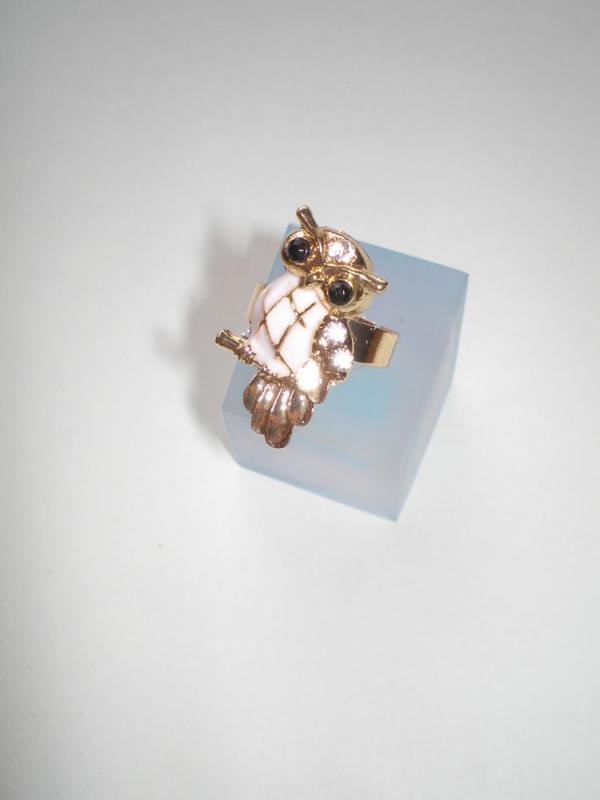 Arany színű bagoly gyűrű