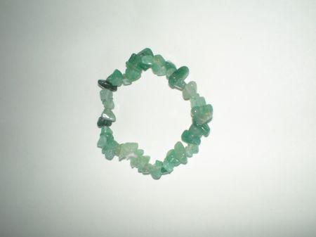 Zöld AVENTURIN ásványszem karkötő