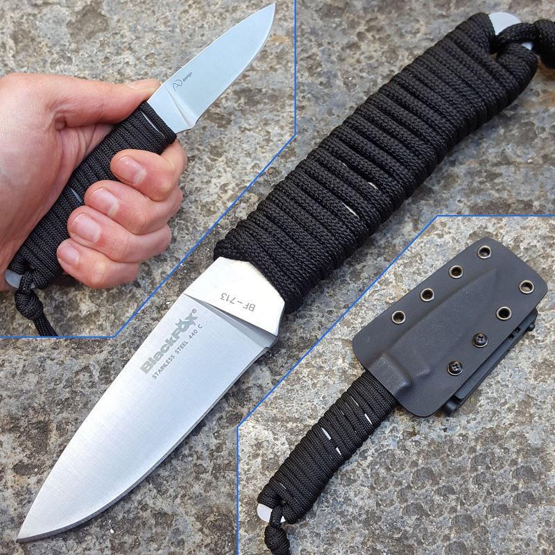 Black Fox Tarlo taktikai Outdoor kés