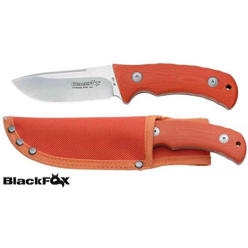 Black Fox Vadászkés Outdoor kés G10 Orange
