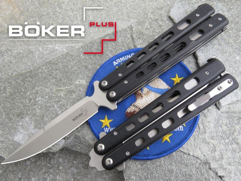 Böker Plus Balisong G10 Large pillangókés