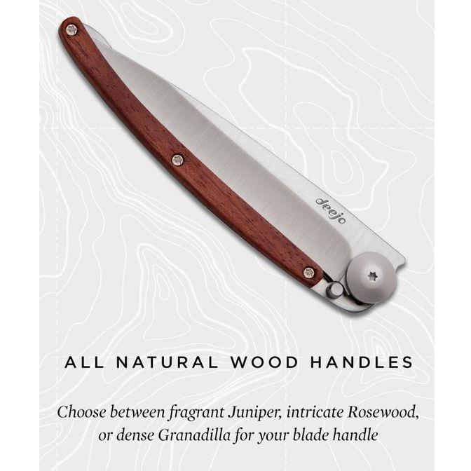 Deejo Wood Collection Rosewood zsebkés
