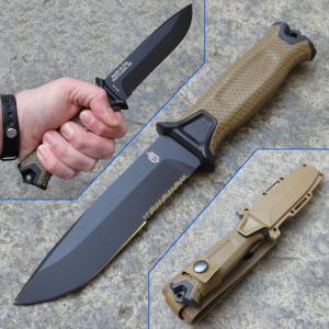 Gerber Strongarm Coyote Serration taktikai tőr
