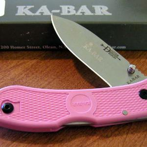 Ka-Bar Dozier Folding Hunter Pink zsebkés